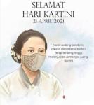 Presiden Jokowi: Habis Gelap Terbitlah Terang, Hari Kartini 21 April