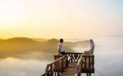 Pesona Jogja: Wisata Bukit Panguk Kediwung Spot Sunrise dan Sunset serta Pemandangan yang Menakjubkan