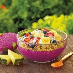 Healthy Diet With Dragon Fruit and Banana