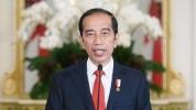 Ekspresi Kegembiraan Sepak Bola Presiden Jokowi