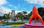 Wisata Galaxy Waterpark Menyajikan Suasana yang Asri