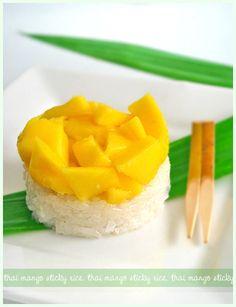 Resep Manggo Sticky Rice Lezat Dan Mudah