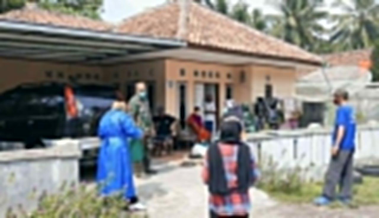 Di Pangandaran Warga yang Isolasi Mandiri Dapat Bantuan Paket Bahan Makanan