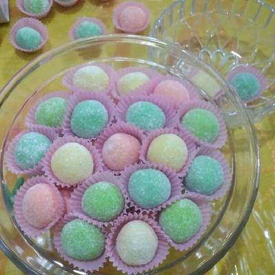 Resep Cemilan Bola Susu Warna-Warni yang Mudah Dibuat